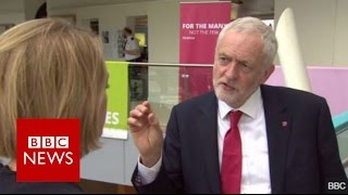 Jeremy Corbyn: 'Our water industry should be in public ownership' BBC News