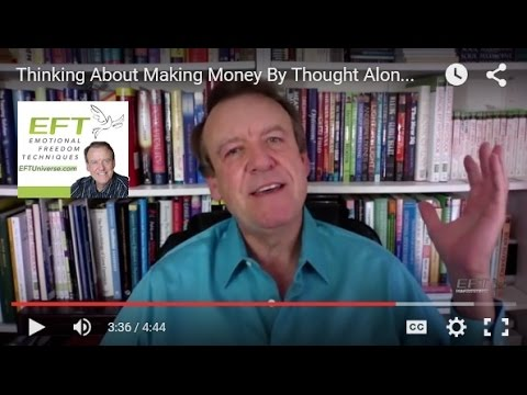 Think About Making Money to Create Prosperity - Tapping Money Miracles