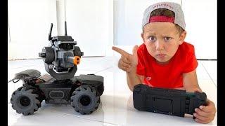 Senya Wants To make A Robot! Senya and his children's Stories
