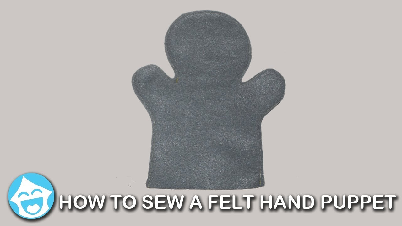 picture relating to Free Hand Puppet Patterns Printable titled How in direction of Sew a Blank Felt Hand Puppet