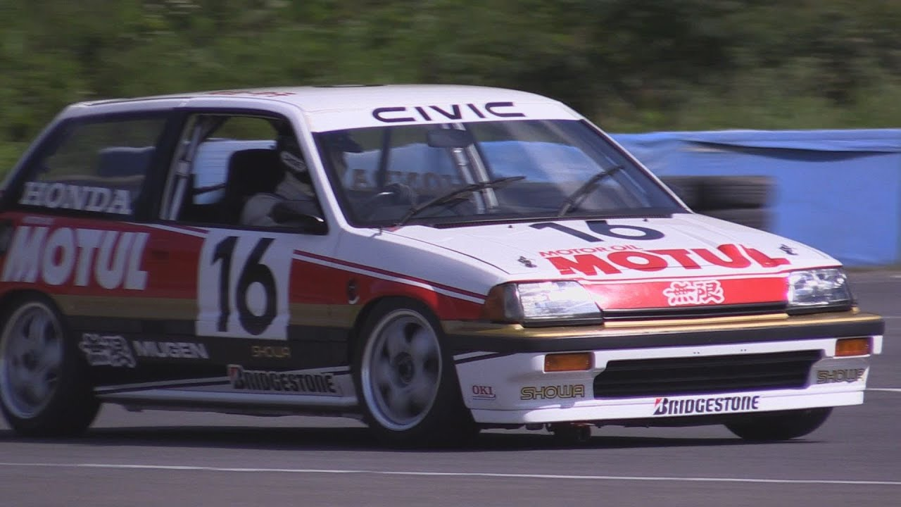 Mugen Motul Civic Si 1987 Jtc Div 3 Champion Twin Ring