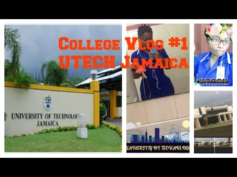 UTECH College Vlog #1 // Second Year Nursing Student // MsReives 😘