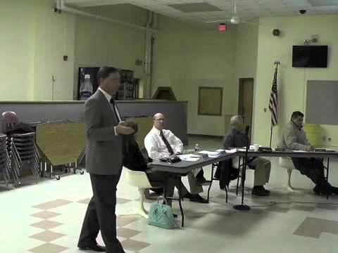 Ticonderoga School Board Meeting  3-26-13