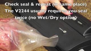 Foodsaver V2244 - How to Dry Age Steak at home - UMAi Dry