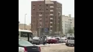 بالفيديو.. «مرور المدينة» يرد على فيديو إزالة مبنى أثناء مرور السيارات - صحيفة صدى الالكترونية