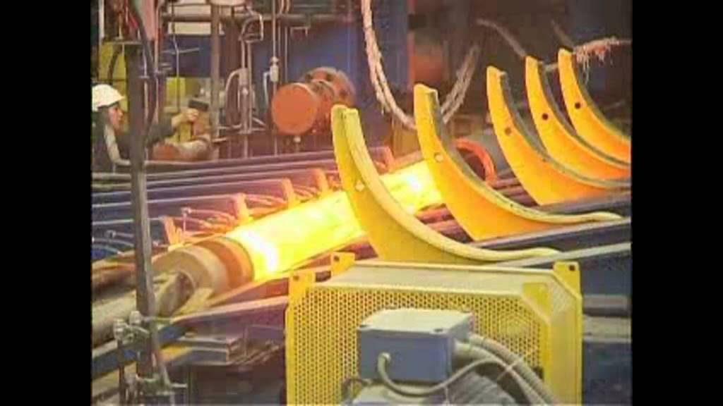 Seamless steel pipe manufacturing process youtube