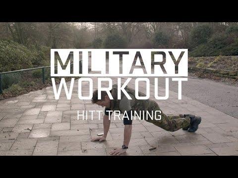 HIIT training | trainen als een militiar | Military Workout