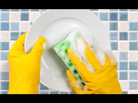 How To Wash Dishes Fast