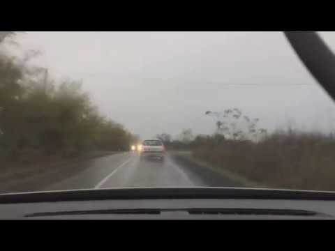Driving A Renault Vel Satis In The Rain