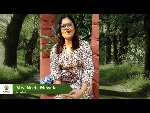 Nimba is the best place for Relaxation and Rejuvenation - Guest from Mumbai