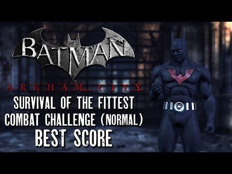 Batman Arkham City - Survival of the Fittest Combat Challenge | Batman (Normal) |