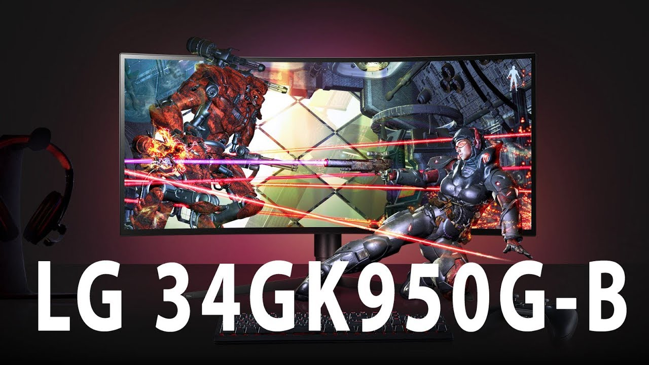 LG 34GK950G-B – Gaming-Monitor ohne Lag