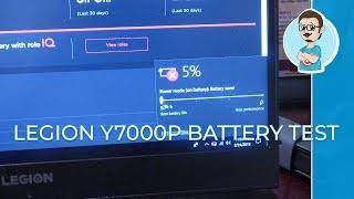 Real Life Battery Test | Legion Y7000P Gaming Laptop!