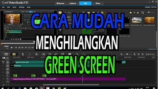 TUTORIAL GREEN SCREEN DENGAN COREL VIDEO STUDIO