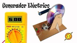 Repeat youtube video Como Hacer un Generador Eléctrico Casero (Energía gratis)