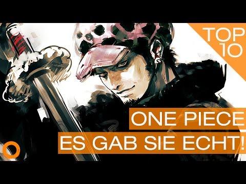 Top 10 One Piece Easter Eggs & Inspirationen Teil 1 - Figuren aus der Seefahrt - JARTS #05
