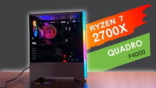 Workstation R7+Quadro P4000 (4K)