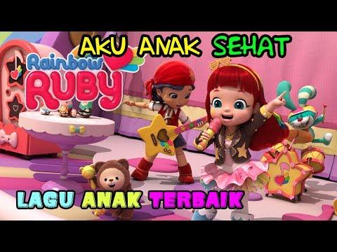 RAINBOW RUBI Lagu Anak Indonesia - Aku Anak Sehat | Kartun Anak Indonesia