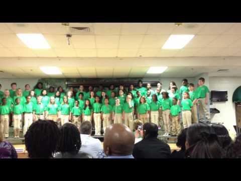 Mckendree Elementary school chorus
