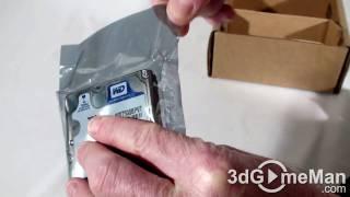 #73 - Western Digital Scorpio Blue 750GB 2.5 Hard Drive Unboxing