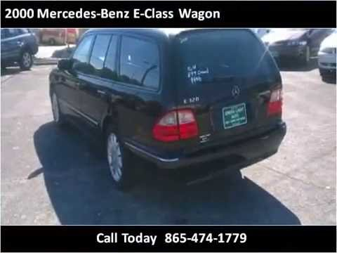 2000 mercedes benz e class wagon used cars knoxville tn for Used mercedes benz knoxville tn