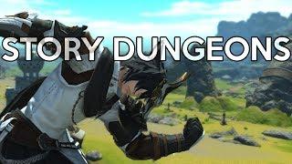 Story Dungeon Adventures! - Part 1 | FFXIV Stormblood