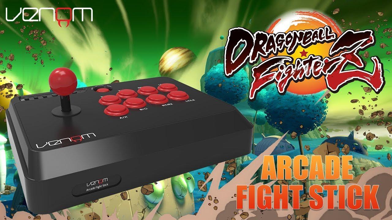 Venom Arcade Fight Stick PLUS Dragon Ball FighterZ Gameplay