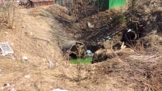 Очистные в Троицке в мкр В не работают(Канализация мкр В-это один из важнейших источников загрязнения. Очистные в мкр В не были построены, вместо..., 2014-04-11T16:11:47.000Z)