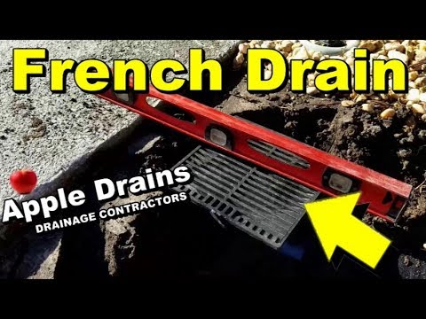Do It Yourself French Drain With Catch Basins