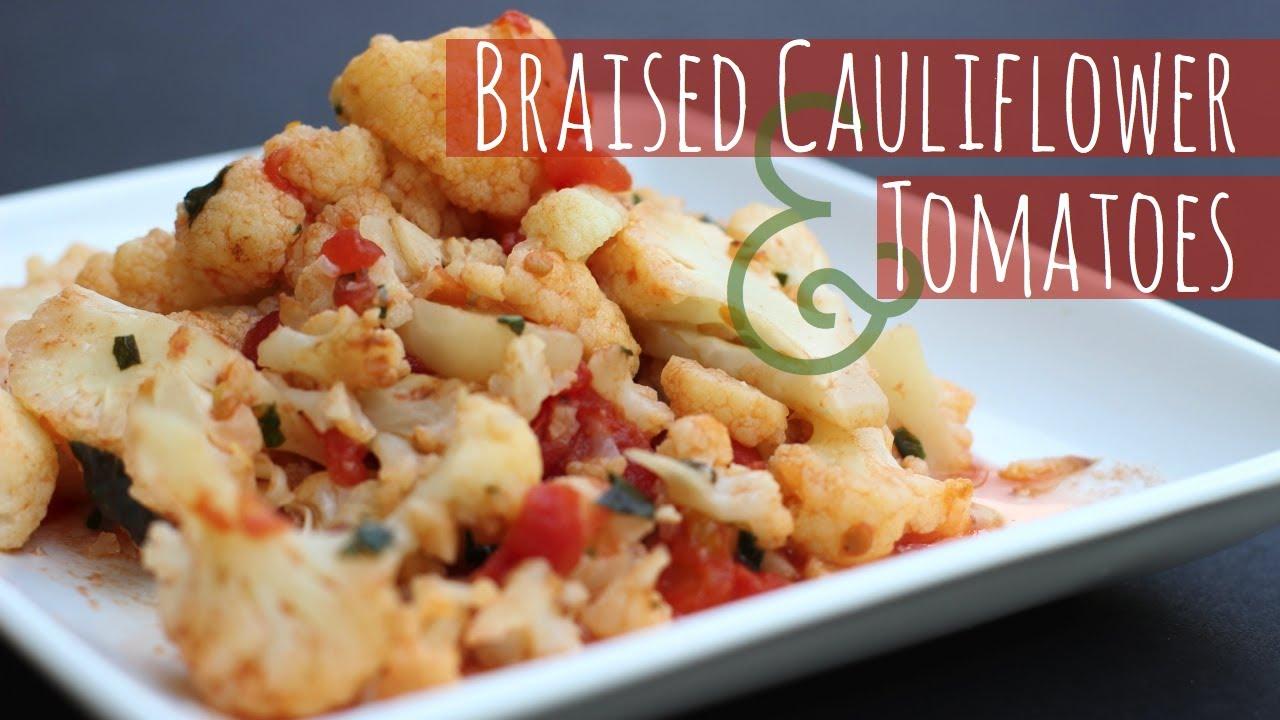 Lidia S Kitchen Cauliflower And Tomato Soup Recipe