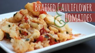 Video Braised Cauliflower with Garlic and Tomatoes download MP3, 3GP, MP4, WEBM, AVI, FLV Januari 2018