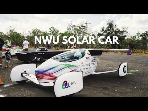 Bridgestone World Solar Challenge : Day 1