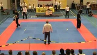 1ste place European Championship Nunchaku  Final Fight +1.85    Ricardo Mols