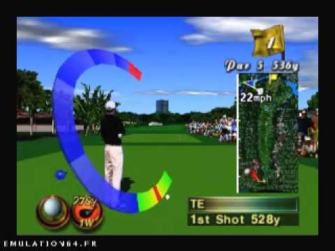 Resultado de imagem para True Golf Classics: Waialae Country Club n64