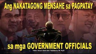 Ang NAKATAGONG MENSAHE sa PAGPATAY sa mga GOVERNMENT OFFICIALS - Mr. Riyoh
