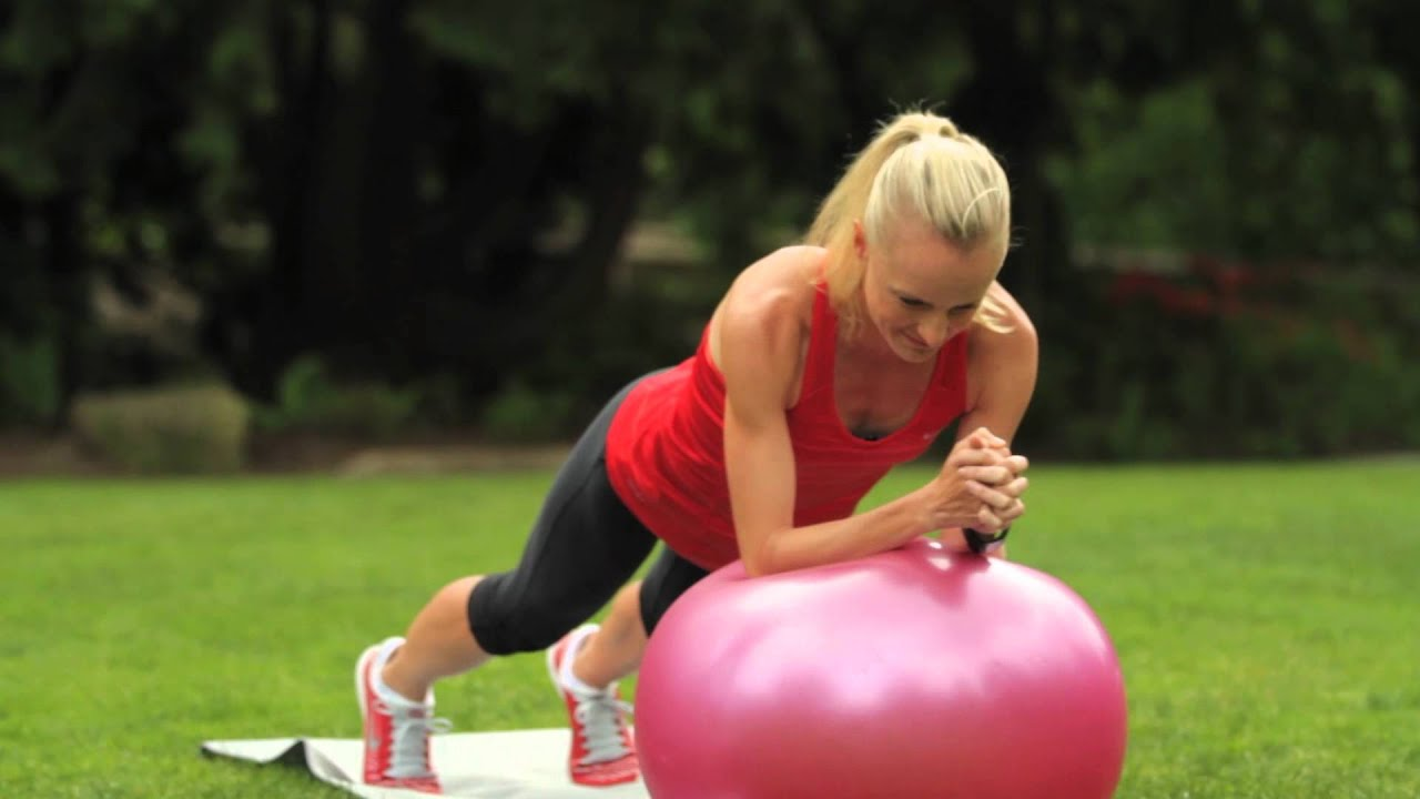Shalane Flanagan ab workout