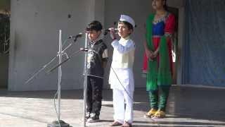 Ved delivering Pandit Jawaharlal Nehru