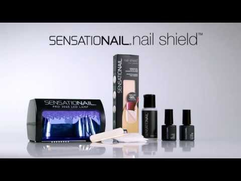 SensatioNail Nail Shield How-To