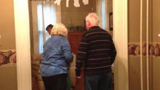 Surprising dad on his 75th birthday