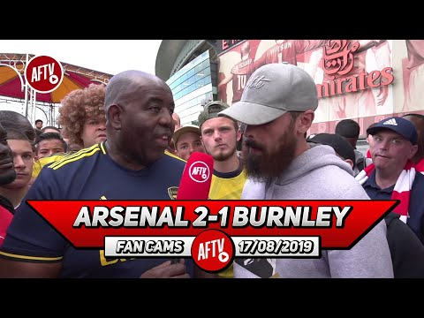 Arsenal 2-1 Burnley   David Luiz Was Confident & Lead From The Back! (Turkish)