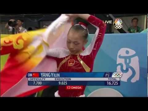 Yang Yilin - Uneven Bars - 2008 Olympics All Around