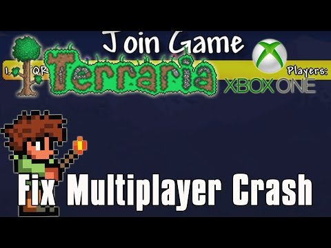Terraria - How To: Join Xbox One Games AFTER 1.2.4.1 Update Without Crashing