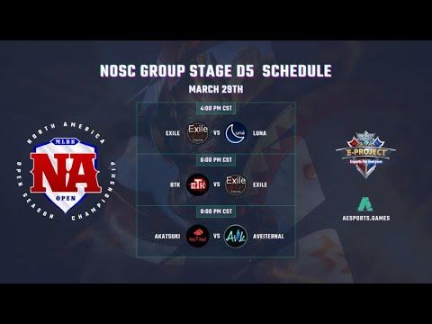 🔴NOSC Group Stage D5 | bTk vs EXILE | North-America Open Season Champion
