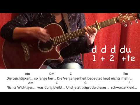 Alles passiert - Die Toten Hosen/Gitarre/Tutorial/Guitar/Cover/Akkorde/Chords/Lyrics