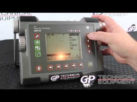 151006A - GE Krautkramer USM25 Ultrasonic Flaw Detector