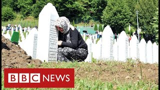 25 years after Srebrenica massacre, genocide-denial lives on - BBC News