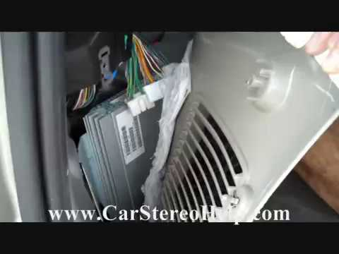 Jeep Commander Boston Acoustic Amplifier Removal  YouTube