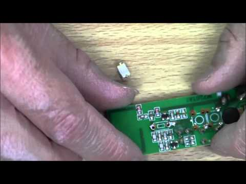 Wireless Door Chime repair (push-button replacement)