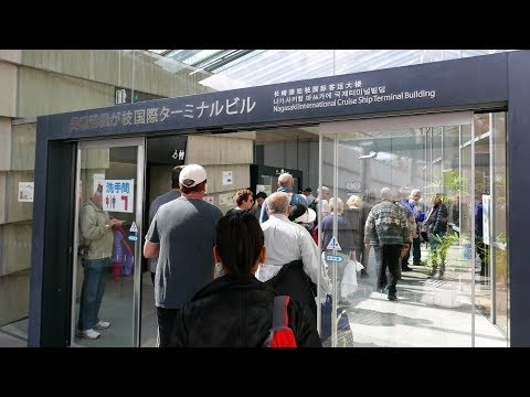 Nagasaki Cruise Port Terminal Tour, Information & Walk To Glover Gardens (4K)
