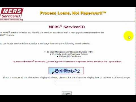 Mortgage Checkup: MERS Mortgage Discharge